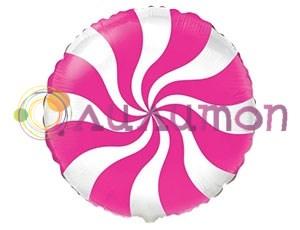 Фольгированный шар 'Конфета розовая'