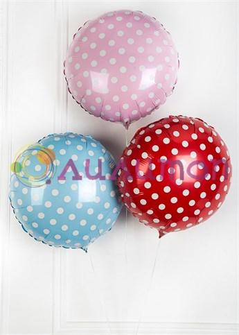 Букет из воздушных шаров 'Горошек'