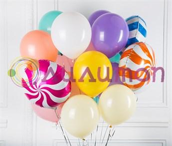 Букет из воздушных шаров 'Конфетки'
