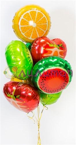 """Фонтан из воздушных шаров """"Тропический рай"""" - фото 8413"""