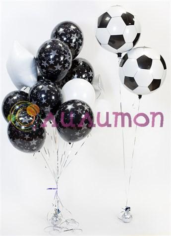 Букет из воздушных шаров 'Футбольный'