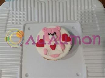 Капкейки 'Романтичный мишка'