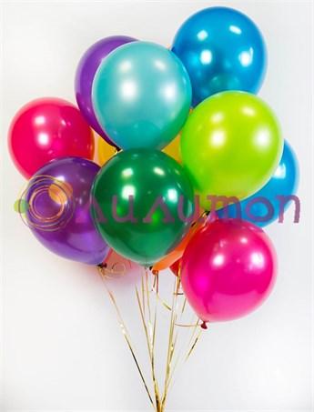 """Воздушные шары под потолок """"Металлик"""" - фото 8551"""