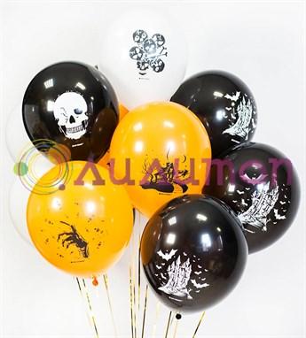 Воздушные шары под потолок 'Хеллоуин'