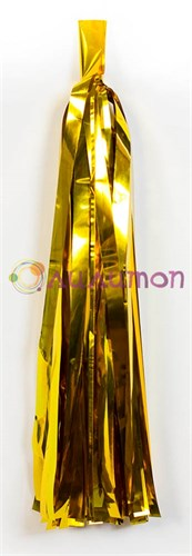 Помпон 'Кисточка Тассел' 35 см, 5 шт  (золотистый)