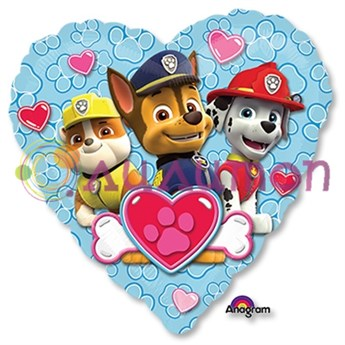 Голубое сердце 'Щенячий патруль'