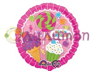Фольгированный шар 18' Лавка сладостей