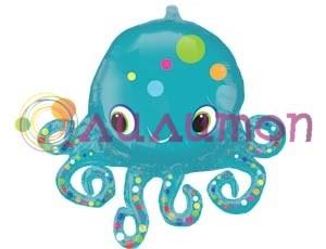 Фольгированный шар Осьминог