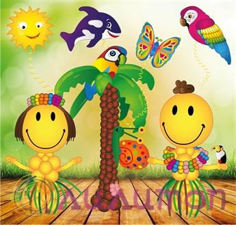 Набор шаров 'Гавайская вечеринка'