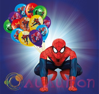 Набор из шаров 'Spiderman'