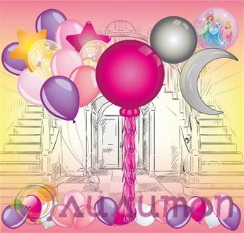 Набор из шаров 'Принцессы Диснея' Сет №2