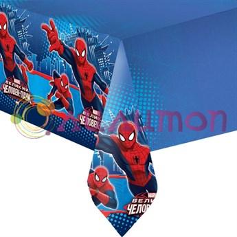 Скатерть полиэтиленовая Человек-Паук 140см X 180см - фото 8709