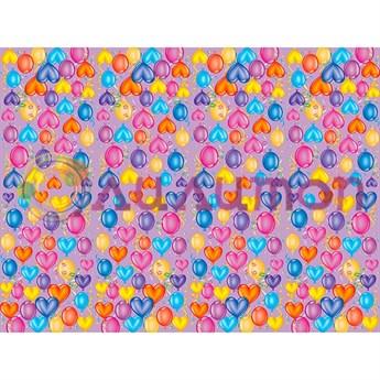 Скатерть полиэтиленовая Праздничное настроение 140см X 180см - фото 8716