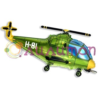 Фольгированный шар 'Вертолет'  57см X 96см