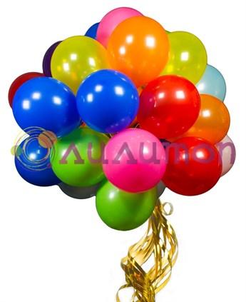 Облако из воздушных шаров ассорти 'АнтиКризис' 1 шар