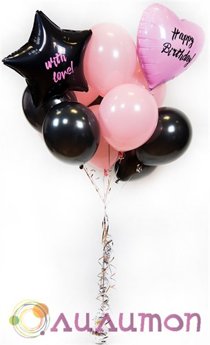 """Букет из шаров """"Happy Birthday"""" - фото 8886"""