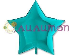 Фольгированная звезда Металлик Tiffany  91 см