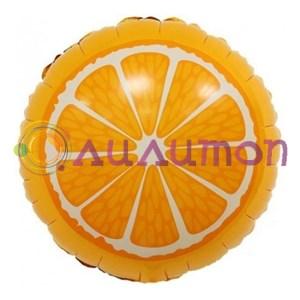 'Фольгированнй шар Апельсин'46см