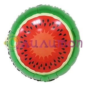 'Фольгированный шар Арбуз' 46 см