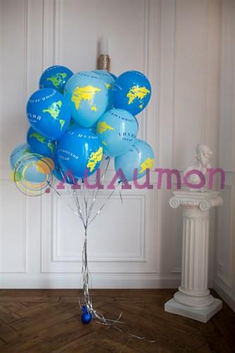 """Воздушные шары """"Глобус"""" - фото 9692"""