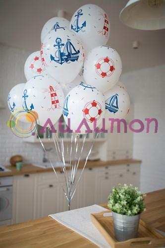 Воздушные шары 'Морской'