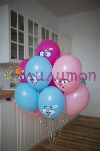 Воздушные шары 'Смешарики'