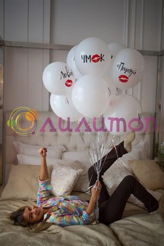 Воздушные шары 'Поцелуй'