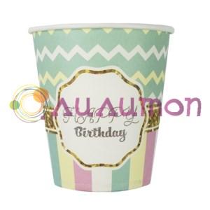 Стаканы бумажные Happy Birthday