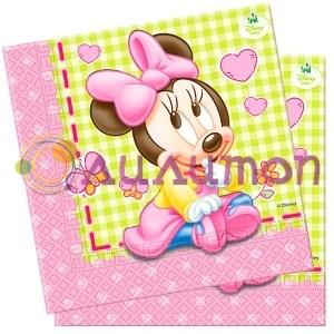 Салфетки Малышка Минни 20шт - фото 9813