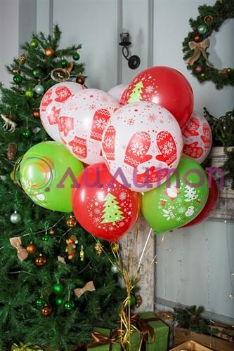 """Воздушные шары """"Новогодние"""" - фото 9834"""