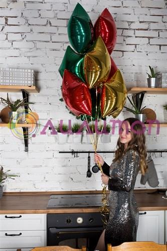Букет из шаров 'праздничные звезды'