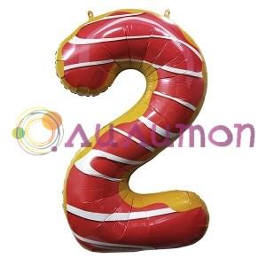 Цифры из шаров '2'