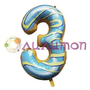 Цифры из шаров '3'