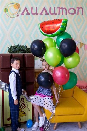 """Букет из шаров """"Арбузный фрэш"""" - фото 9910"""