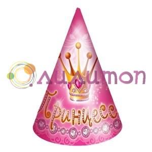 Колпачки 'Моя принцесса' 6шт