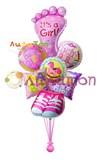 """Букет из воздушных шаров  """"Для малышки"""""""