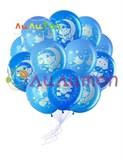 Облако из воздушных шаров для новорождённого