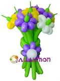 """Цветы из шаров """"Сиреневая сказка"""""""
