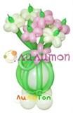 """Цветы из шаров """"Комплимент"""""""