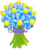 """Цветы из шаров """"Лазурное небо"""""""