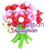 """Цветы из шаров """"Сластёна"""""""
