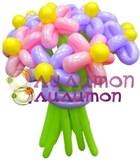 """Цветы из шаров """"Кружево"""""""