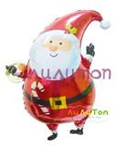 """Фольгированный шар """"Санта"""""""