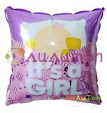 """Фольгированный шар """"Подушка с малышкой"""""""