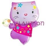 Фольгированный шар Hello Kitty (Китти)