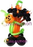 """Цветы из шаров """"halloween"""""""