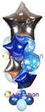 """Букет из воздушных шаров """"Новогодние искры"""""""