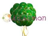 Облако из воздушных шаров цвета хаки