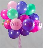 Облако из нежных воздушных шаров +тиффани
