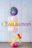 """Букет из воздушных шаров """"Теплое поздравление"""""""